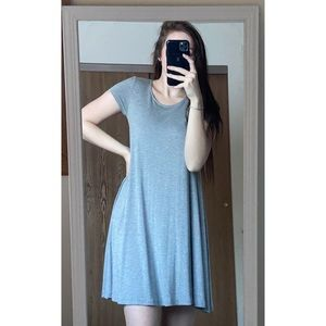 NWT Forever 21 Grey Mini T-Shirt Dress